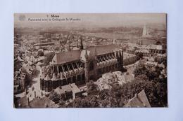 Panorama De Mons Avec Collégiale Ste Waudru - Mons
