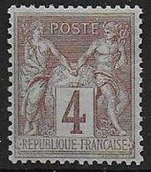 France - Type Sage - N°  88 **  - Cote : 22,50 € - 1876-1898 Sage (Type II)