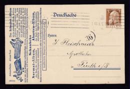 3 Pf. Privat-Ganzsache Schaubek - Gebraucht Ab Nürnberg - Bavière