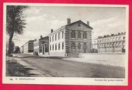08-Charleville-Caserne Des Gardes Mobiles -cpa Non  écrite - Charleville