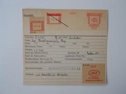 Archiefkaart, Archive Card, Gas, Accu, Gasaccumulator - Usines & Industries