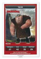TCG - DREAMWORKS CARREFOUR - 122 - Dragons - Varek - Disney
