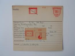 Archiefkaart, Archive Card, Gas, Deur, Door - Usines & Industries