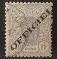 Luxemburg  Dienstzegels  1875  Nr. 14 I    Gestempeld    CW  150,00 - Officials