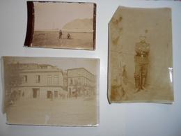 Lot De Photos Francais Au Chili Valparaiso 1897 Boulangerie /pompier / Panaderia / Franceses En Chile Bombero - Photos