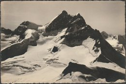 Jungfraubahn, Rottalhorn-Rottalsattel-Jungfrau, C.1940s - Gyger Foto-AK - VS Valais