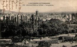 63 - LES MARTRES-de-VEYRE - Vue Générale - France
