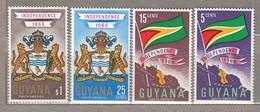 GUYANA 1966 Flag Coat Of Arms Map MNH (**) Mi 238-239 #23684 - Guyana (1966-...)