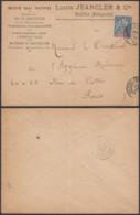 """Madagascar 23/01/1901 - Yv.33  Sur Lettre Publicitaire """" Majunga """" Vers Paris  (6G19424) DC 1556 - Covers & Documents"""