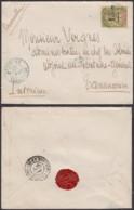 "Madagascar 23/09/1902 - Yv.50 Sur Lettre De "" AMBOSITRA "" Vers Tananarive (6G19424) DC 1559 - Lettres & Documents"
