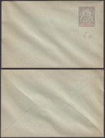 Madagascar - EP Enveloppe Lettre Neuve Nº6A (6G19424) DC 1567 - Madagascar (1889-1960)