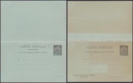 Madagascar - EP Carte Postale Double Neuve Nº4 (6G19424) DC 1586 - Madagascar (1889-1960)
