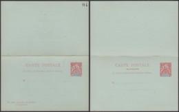 Madagascar - EP Carte Postale Double Neuve Nº6 (6G19424) DC 1587 - Madagascar (1889-1960)