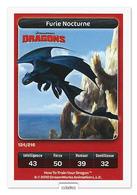 TCG - DREAMWORKS CARREFOUR - 124 - Dragons - Furie Nocturne - Disney