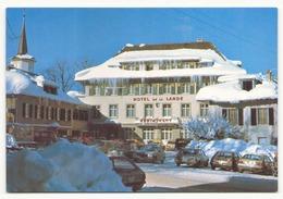 HOTEL DE LA LANDE A LE BRASSUS - Hotels & Restaurants