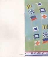 LE FRANCE, CIE GLE TRANSATLANTIQUE, Week-end En Mer 13 Avril 1968, Détail équipage Et Liste Des Passagers - Bateaux
