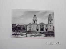 Lima. - Plaza De Armas. - Peru