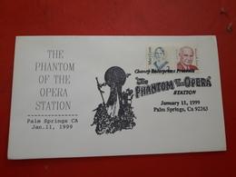 Des USA Enveloppe  Commémoratif  The Phantom Of The Opera - United States