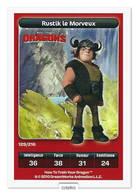 TCG - DREAMWORKS CARREFOUR - 129 - Dragons - Rustik Le Morveux - Disney