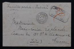 FRANCE - Enveloppe Du Camp De Prisonnier De Frigolet  Pour Vienne - L 21268 - Postmark Collection (Covers)