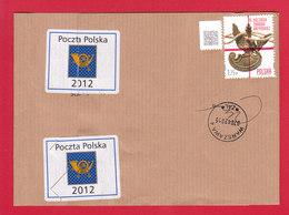 POLAND 2015.04.07. 75th Anniversary Of The Katyn Massacre - Canceled Band For Official Shipments Of Poczta Polska - Poland