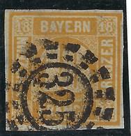 Allemagne, Baviére, N° 8 Oblitéré - Bavière