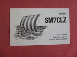 Gosta Nathell  Ham   Radio- Sweden    Ref 3131 - Sweden