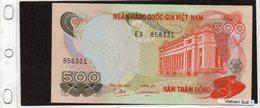 Banconota Vietnam Del Sud 500  Dong - Vietnam