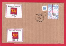 POLAND 2015.04.27. World Youth Day Krakow - Canceled Band For Official Shipments Of Poczta Polska - Poland