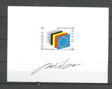 NA 10FR EUROPESE UNIE  NIET AANGENOMEN ONTWERP 2002 - Belgique
