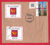 POLAND 2015.06.19. Lighthouses - Canceled Band For Official Shipments Of Poczta Polska - Poland