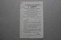 A.Labat, Entremise Industrielle (vente Et Achat D'établissements Industriels), 1 Rue Baillif à Paris - France