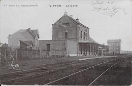 Virton - La Gare - N°1 - Preveté. Louis Duparque - Circulée - 2 Scans. - Virton