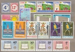GUYANA Nice Stamps Lot MNH (**) #23690 - Guyana (1966-...)