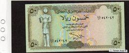 Banconota Yemen Arab Republic 50 Rials - Yémen