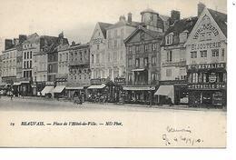 60 - BEAUVAIS - Place De L'Hôtel De Ville (Commerces) - Beauvais