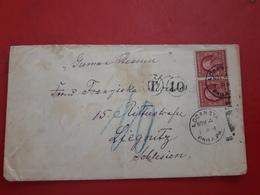 Des USA Enveloppe Circulé 1910 Avec Taxe - United States
