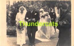 CPA CARTE DE PHOTO FOTOKAART MARRIAGE TROUW HUWELIJK ZWAAN DEN HAAG - Noces