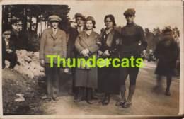 CPA CARTE DE PHOTO SOUVENIR DE BANNEUX  1934 PAQUES - Sprimont