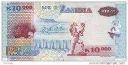 ZAMBIA P. 46g 10000 K 2011 UNC - Zambie