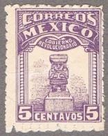 Mexico 1924 Freimarken Yucatan Mi. 1 A Postfrisch Mit Falzspur - Mint With Falz Trace - Mexico