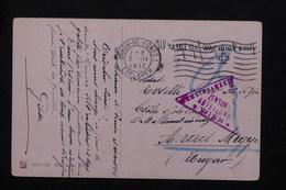 SUISSE - Carte Postale De Prisonnier à Chaux De Fonds Pour La Hongrie En 1917 , Censure De Wien - L 21270 - Poststempel