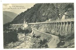 LE CANAL HENNEBIQUE ROUTE DE LA FURKA EDITEUR RUGGERI GIOVANNI BRIGUE SUISSE - UR Uri