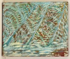 Olvashatatlan Jelzéssel: Rianások. Olaj, Farost, 50×60 Cm - Other Collections
