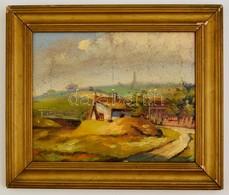Jelzés Nélkül: Kőérberek. Olaj, Karton, Keretben, 21×25 Cm - Other Collections