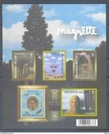 GDCD 4 RENE MAGRITTE  ONGETANDE BLOK ZONDER NUMMER 2008 - Foglietti Bianchi & Neri