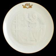 Herendi Emlék Tálka (150 év), Kézzel Festett, Jelzett, Hibátlan, Eredeti Dobozában, D:15,5 Cm - Ceramics & Pottery