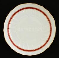 Herendi Tál ( 2 Db), Kézzel Festett, Jelzett, Egyiken Máz Hibával, D:27 Cm, 36×27 Cm - Ceramics & Pottery