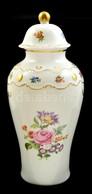 Wallendorf Fedeles Váza. Jelzett, Matricás, Hibátlan  30 Cm - Ceramics & Pottery