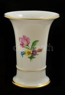 Höchst Váza, Kézzel Festett, Jelzett, Hibátlan, M: 15 Cm - Ceramics & Pottery
